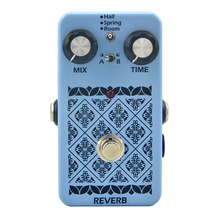 Musical Instrument  Reverb effect pedal True Bypass Electric Guitar Pedal for Guitar Parts & Accessories reverb