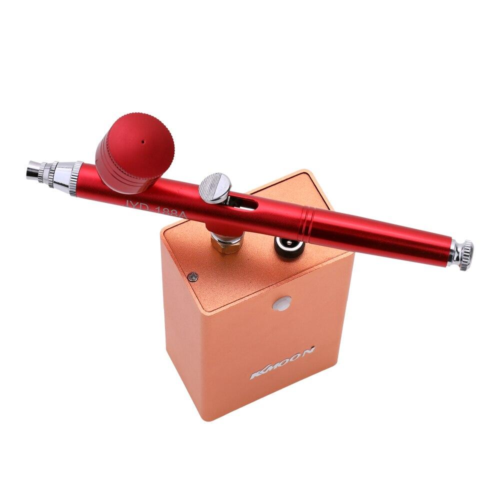 KKmoon Airbrush Set Small Spray Pump Pen Set Air Compressor Kit for Art Painting Tattoo Craft Cake Spray Model