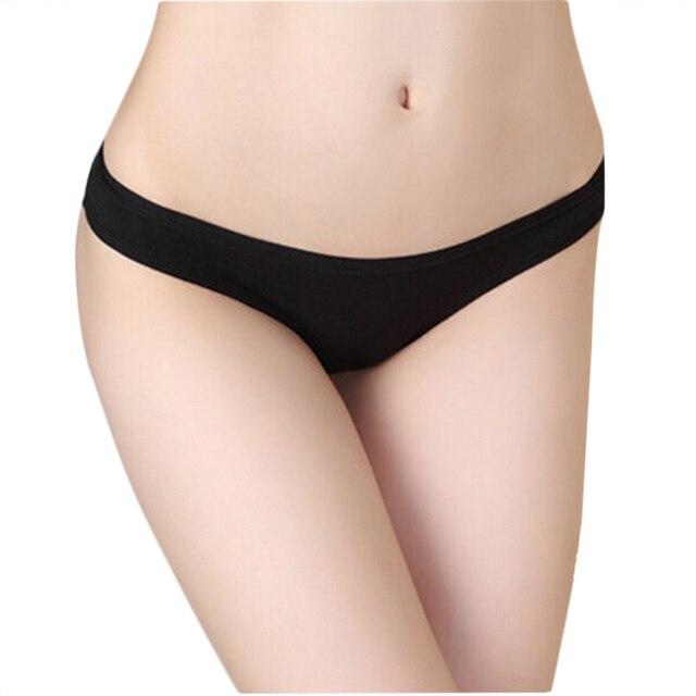 Crotchless bikini thong