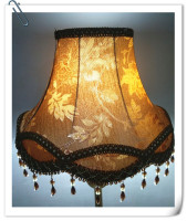 Lampshade for Floor lamp cover painting flower Pattern crystal pendant table lamp shade E27 vintage bedroom lampshade