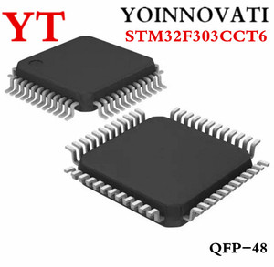 Image 2 - 10 pz/lotto STM32F303CCT6 STM32F303 STM32 F3 IC 32 Bit 72MHz 256KB (256K x 8) FLASH 48 LQFP (7x7)
