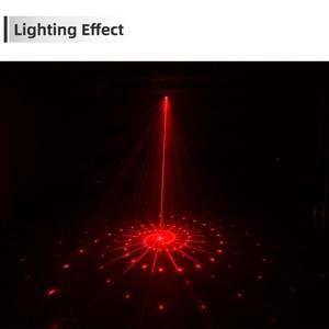 Image 2 - 60 מצבי LED דיסקו אור USB נטענת RGB לייזר הקרנת מנורת אלחוטי בקר אפקט במה אורות המפלגה DJ KTV כדור