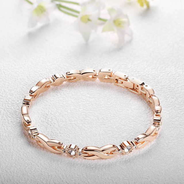 c2e85a013 4 PCS Set Ginave Watch Women Rose Gold Diamond Bracelet Watch Luxury  Jewelry Ladies Female Girl Hour Casual Quartz Wristwatches-in Women's  Watches from ...