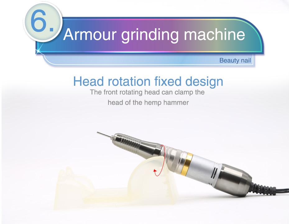 8 electric professional nail drill, professional nail drill, nail drill,Cheap electric professional nail drill, (10)