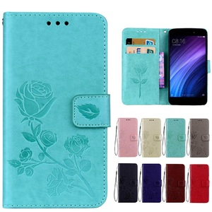 Cases For Xiaomi Redmi A4 Case Redmi 4A 4 A Luxury Leather Wallet Flip Cover Case for Xiaomi Redmi 4A fitted cases mobile parts