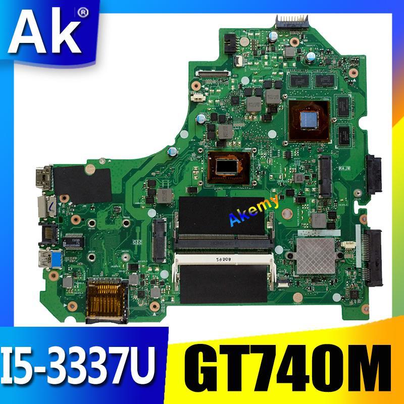 AK K56CB Laptop motherboard for ASUS K56CB K56CM K56C K56 S550CM S550C Test original mainboard I5
