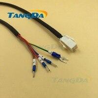 Tangda servomotor serie aansluiting draad Kabel 5 meters MFMCAO OEED Elektrische machines 172159 E type terminal 0.75mm2 * 4C