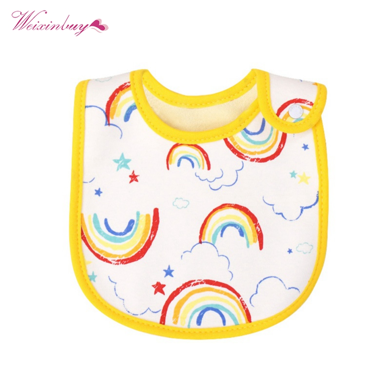 4 PCS /Set Newborn Dual Use Nipple Lace Toddler Bib Baberos Triangle Baby Bibs Infant Waterproof Neckerchief Bandana