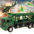 Дети Toys Популярные Прохладный Военная Техника Модели Грузовиков с Вертолета Игрушки детские Модели Автомобиля Toys 30*40.5 см