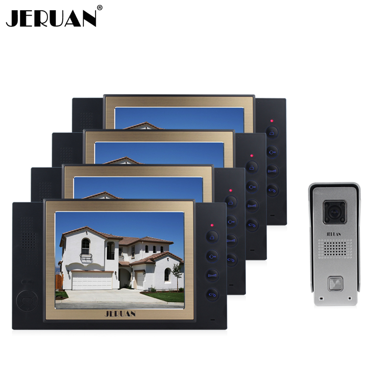 JERUAN 8 inch video door phone doorbell intercom system doorphone hands-free speaker intercom with video recording photo taking original xk k124 bnf without tranmitter ec145 6ch brushless motor 3d 6g system rc helicopter compatible with futaba s fhss