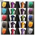 Новый мужская мода галстуки бизнес случайный галстук полиэстер шелковый Gravatá Сплошной цвет prodenia галстук для мужчин Свадебные шеи галстук B148