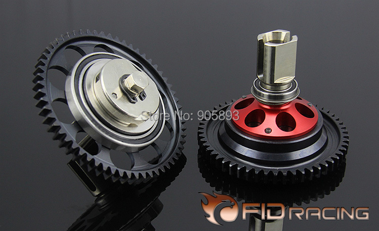 New 2 Speed Transmission Gear kit for Losi 5IVE T billet rear hub carriers for losi 5ive t