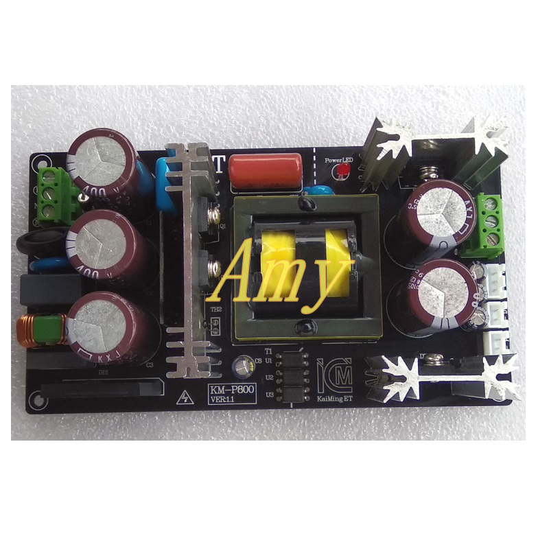 LLC soft switching power supply board 800W high power digital power amplifier class a power amplifier