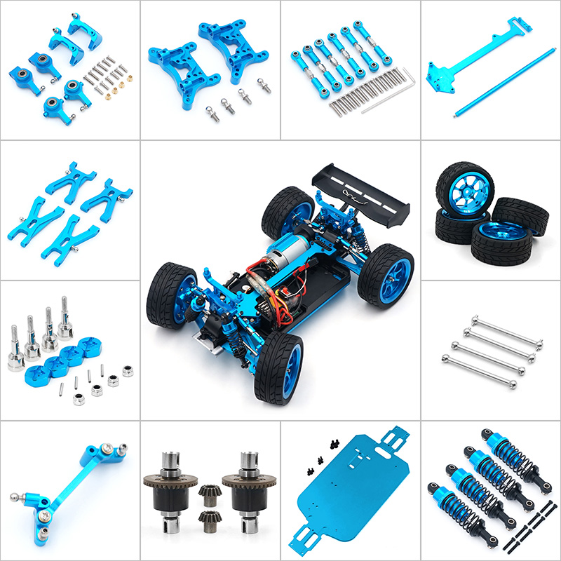 A949 Motor A949-32 for Wltoys A949 A959 A969 A979 1/18 RC Car Spare Parts Upgrade the metal gear differential A949-23 A949-24