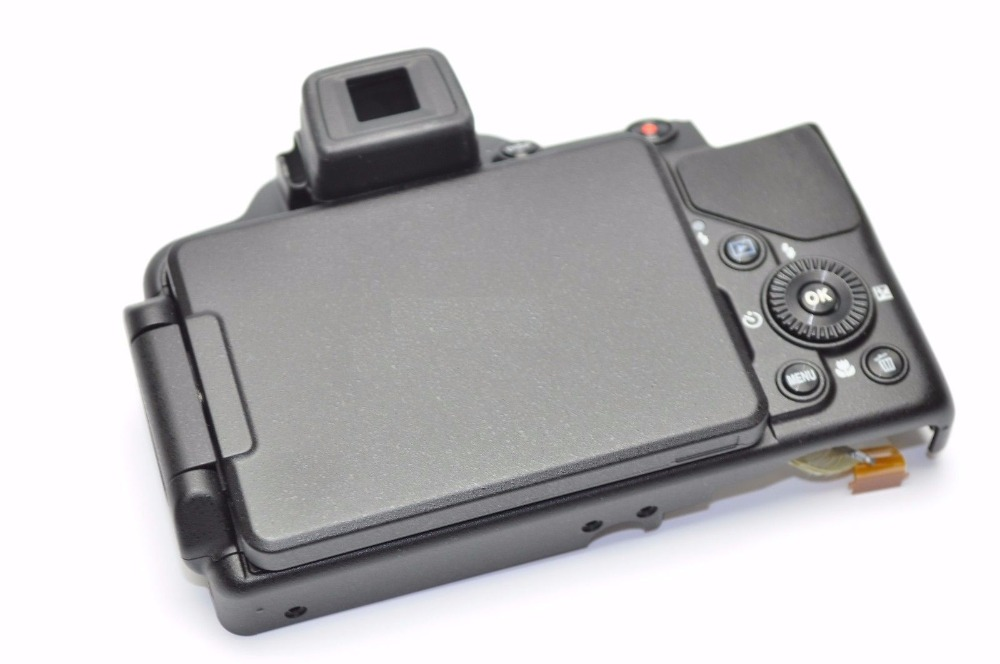 FREE SHIPPING! 95%new back cover For Nikon P520 Rear Cover With LCD Screen, LCD Hinge Flex Rear Rubber Repair 180 16 9 fast fold front and rear projection screen back