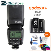 Godox TT600 2.4G Wireless Camera Flash Speedlite + X1T F TTL 1/8000s 2.4G Wireless Trigger Transmitter for Fujifilm Fuji Camera