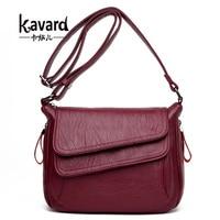 Kavard Women Leather Handbags Summer Style Women Bag Sac A Main Femme Luxury Handbags Women Bags