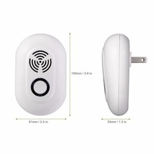 VICTMAX 3W Electronic Ultrasonic Pest Repellent Mosquito Multi-function Mice Pest Reject Insect Killer Rat Mouse Repeller