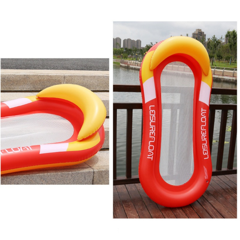 2019 New Water Net Hammock Float Inflatable Rafts Swimming Pool Floating Chair Adult Kids Water Toys Water Beach Air Mattresses