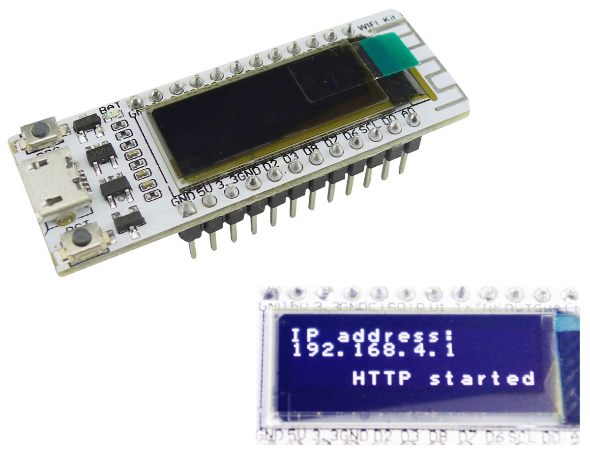 Aihasd 0.91 Inch OLED Display ESP8266 Wifi Kit8 Development Board for Arduino NodeMCU 128X32 White CP2104 for Smart HomeAihasd 0.91 Inch OLED Display ESP8266 Wifi Kit8 Development Board for Arduino NodeMCU 128X32 White CP2104 for Smart Home