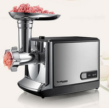 household meat grinder electric meat slicer cutter stainless steel automatic sausage filler vegetable mincer chopper machineF-85