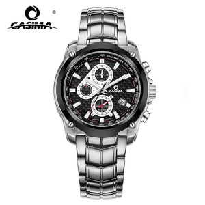Image 1 - CASIMA Mens Chronograp ספורט שעון אופנה 100M עמיד למים צולל צבאי קוורץ שעון יד שעון גברים saat Relogio Masculino
