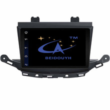 BEIDOUYH Android 9 inch Car navigator for Buick Verano 2015 with GPS Navigation/RDS Radio/can-bus Support SWC/OBD/DVR/Rear view