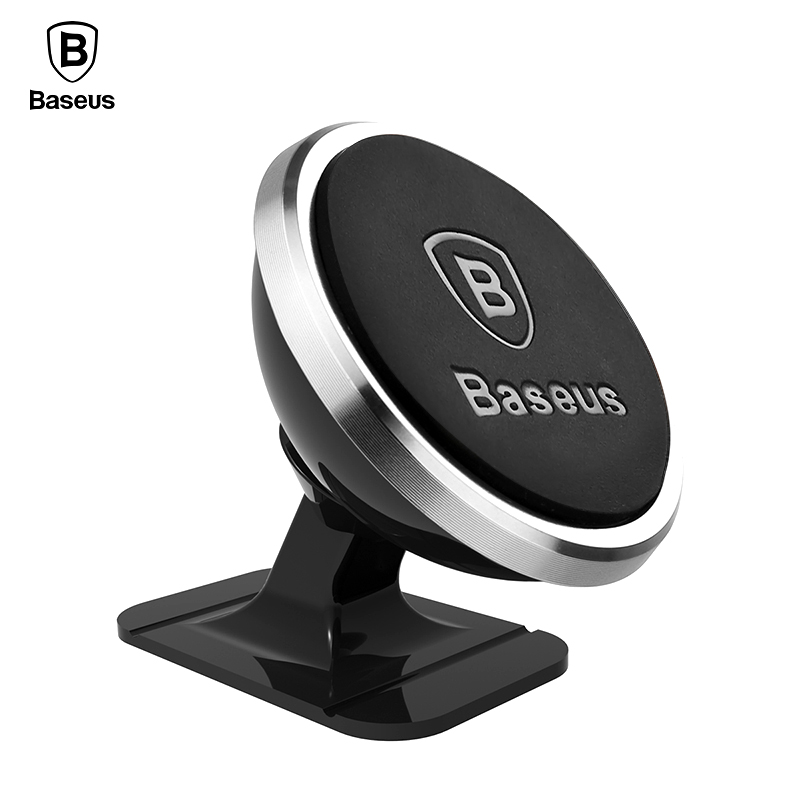 Baseus Magnetic Car Phone Holder For iPhone X Samsung S9 Mount Holder For Phone In Car Cellphone Cell Mobile Phone Holder Stand