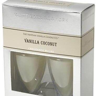 Vanilla Coconut White Barn New York Wallflowers Fragrance Bulbs 2 pk - 0.8 oz each for The Tahitian Vanilla Candle Co. new model magic modeling compound 8 oz each neon 2 lbs 232413