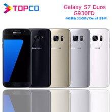 Samsung Galaxy S7 Duos G930FD Original Entsperrt 4G LTE Android Handy Exynos Octa Core Dual SIM 5,1