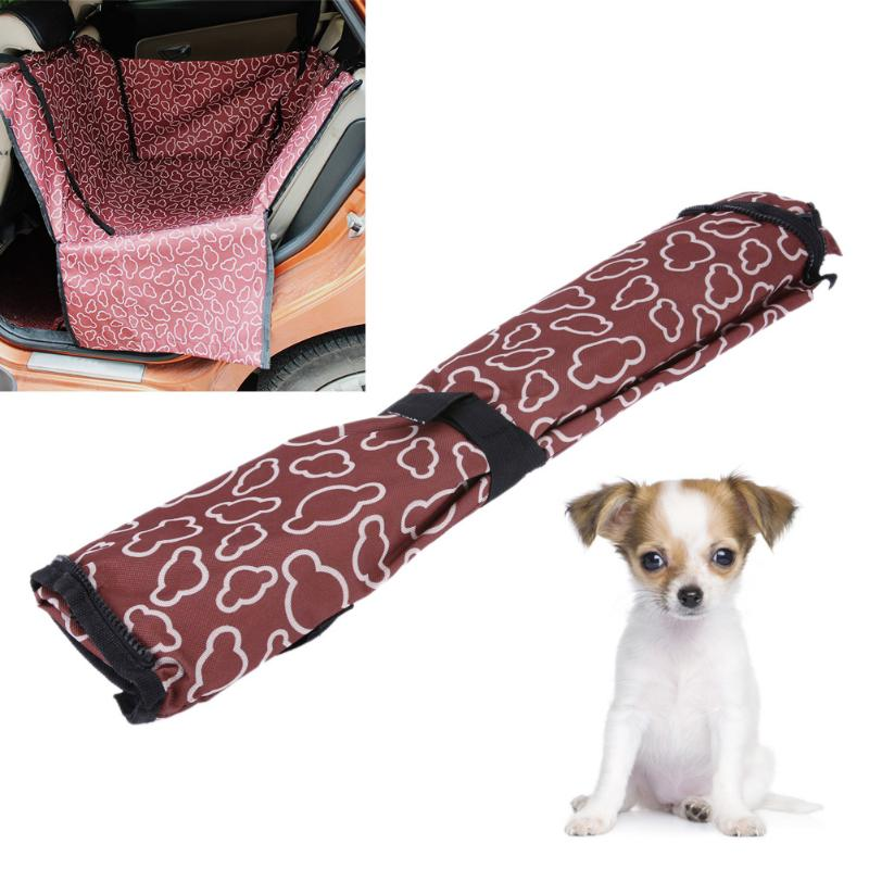 Waterproof Single Dog Seat Cover Pet Rear Carrier Mat Blanket Dog Car Seat Back Protector Safe Dog Accessories Hammock 5