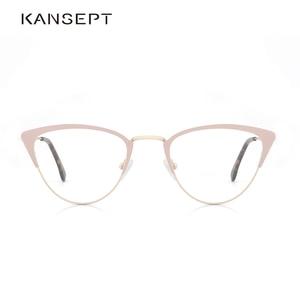 Image 1 - אצטט נשים משקפיים מסגרת משקפיים שקוף עדשת רטרו גבירותיי חתול עין משקפיים קוצר ראיה בציר משקפיים מסגרת # 3743