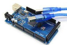 Mega2560 REV3 (ATmega2560-16AU CH340G) Board ON USB Cable compatible for arduino