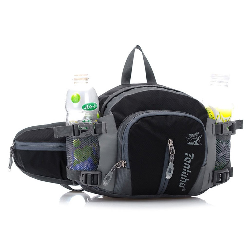 100% Quality Waterproof Outdoor Fishing Tackle Bag Shoulder Bag Handbag Waist Bag Fishing Gear Storage For Fishing Hiking Climbing