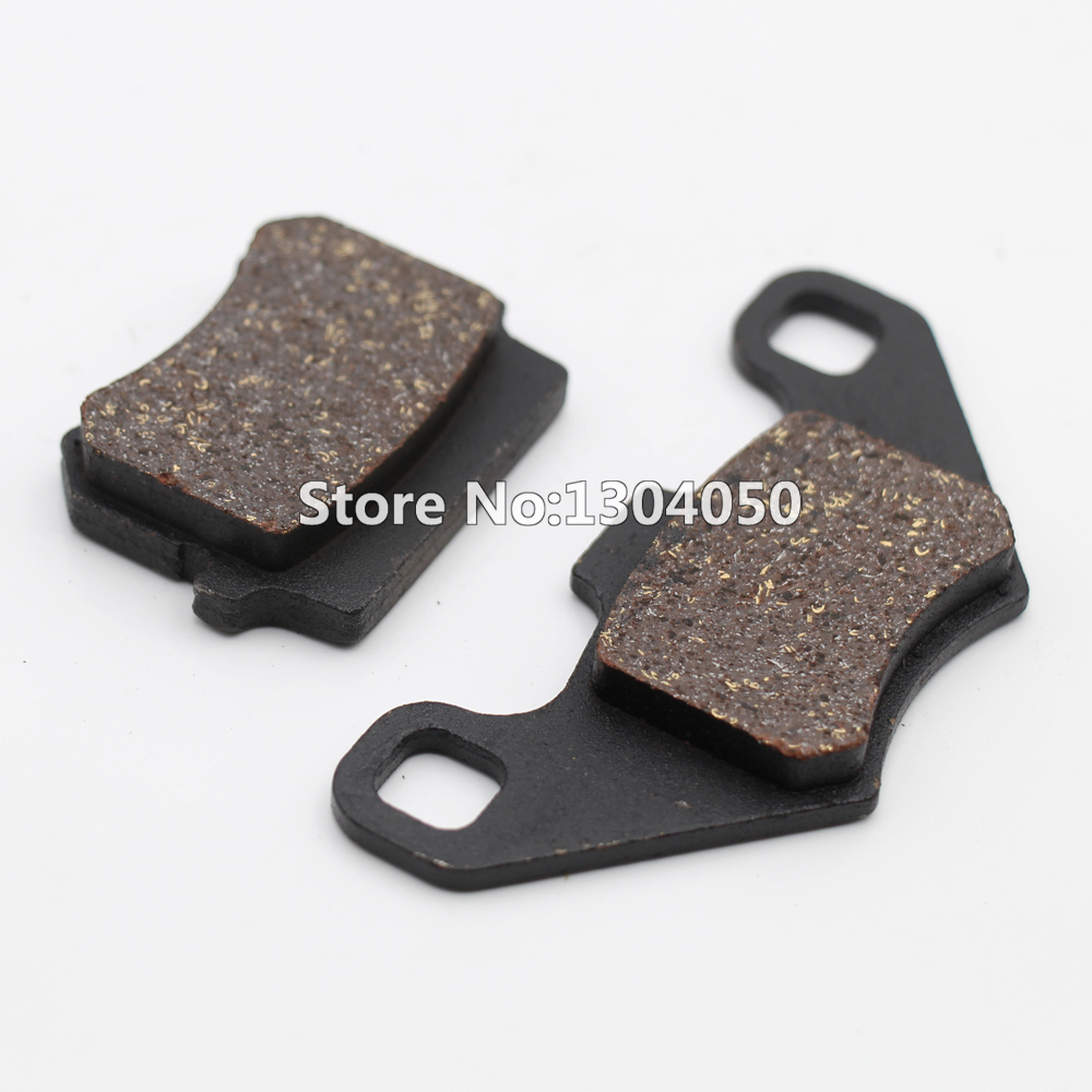 ATV brake pad 50cc 70cc 90cc 110cc 125cc pit bike ATV motorcycle moped scooter Disc brake pad NEW goofit universal rear drum brake shoes pad for gy6 50 150cc moped scooter c029 073