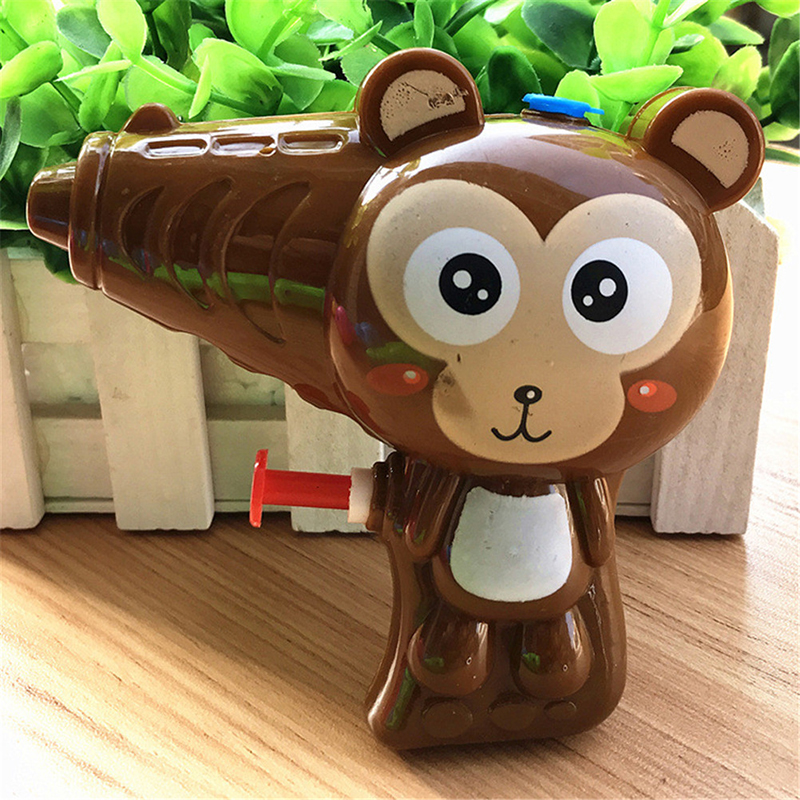 Cartoon Animal Soap Water Bubble Gun For Kid Outdoor Toys Children Blowing Bubbles Toy Manual Bubble Gun Blower Random