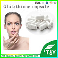 Puro pó glutationa clareamento da pele l-Cápsula glutationa 500 mg * 200 pcs