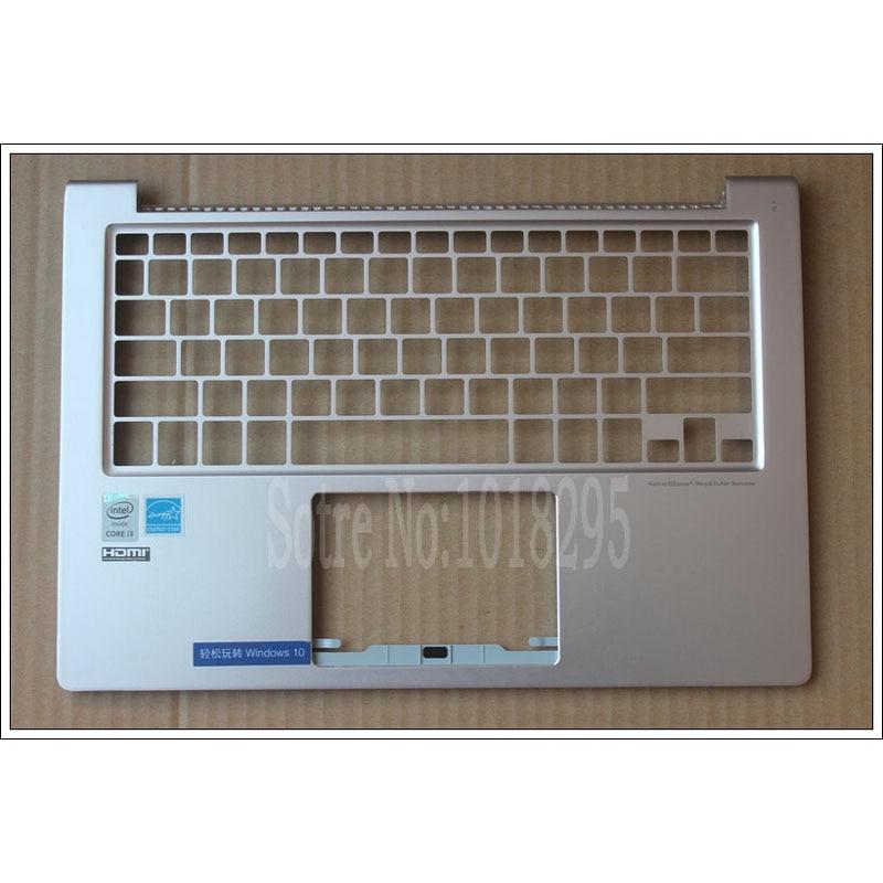 For ASUS UX303L UX303 U303L UX303LA UX303LN C Shell Keyboard laptop Bezel Palmrest Cover NO Touchpad AM16U000G0S Golden new for asus ux303 ux303ln u303l u303ln lcd back cover top cover palmrest upper case am16u000r0s am16u00160s am16u00110s