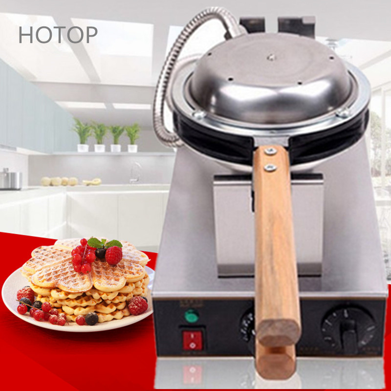Фотография Newest 110V/220V Egg Puff Machine Egg Waffle Maker Kitchen Appliance Waffle Makers With Adjustable Thermostat FY-6