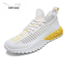 Sport Men Running Shoes Summer Beathable Air Mesh Casual Slip On Light Sports Sneakers