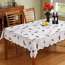 цены CZ034 Flannel Backed Vinyl Tablecloth Waterproof Oblong(rectangle) (47-Inch by 60-Inch and 54-Inch by 72-Inch)