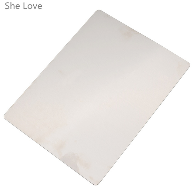 She Love Steel Plate Durable Replacement for Die Cutting Embossing Non-woven Fabrics Scrapbooking Card Making