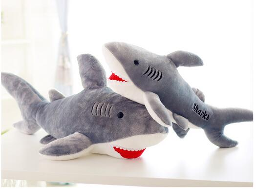 Online get cheap marine shark alibaba group for Life size shark plush