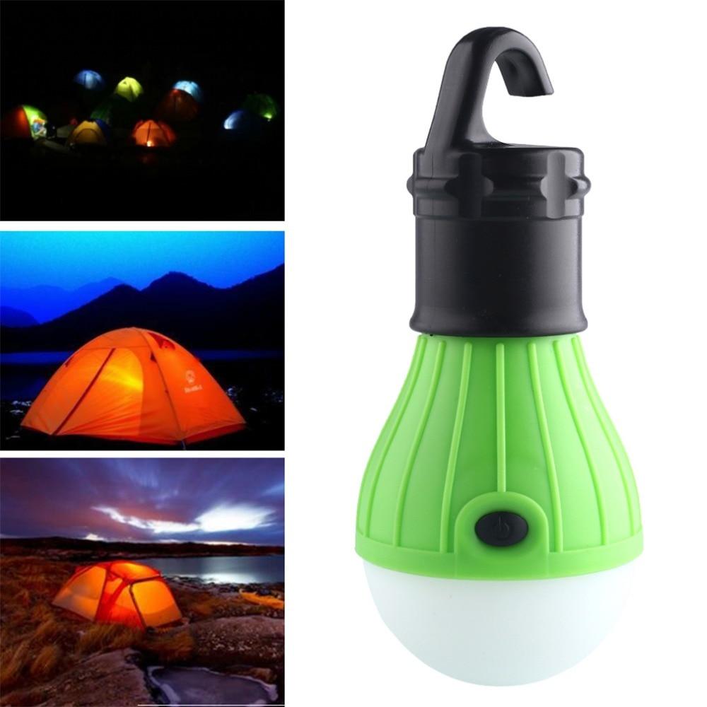 Aimable Nouveau 3 Led Ultra Lumineux Poignée Extérieure Lampe De Camping En Plastique Tente Ampoule Avec Crochet De Lampe Pour La Pêche Randonnée Suspendus éclairage