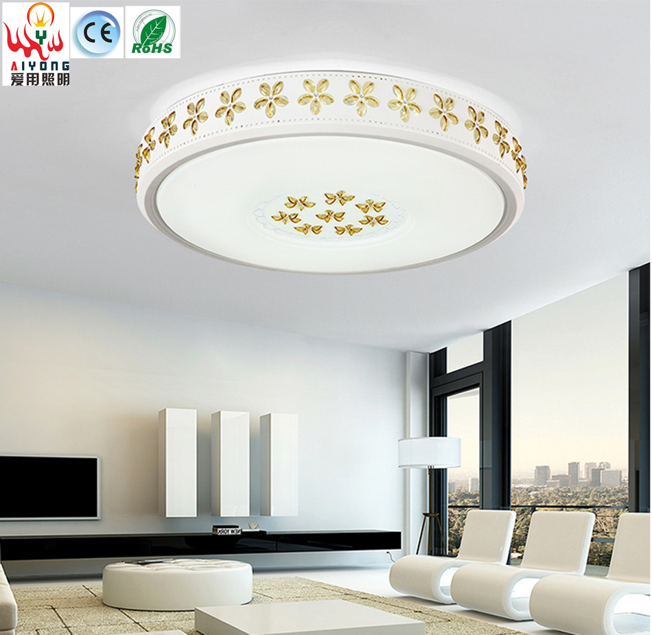 Chinese LED ceiling lamp master bedroom lamp room round artificial lamp restaurant modern balcony living room lamps i love living room ceiling lamps iron modern minimalist led bedroom study restaurant kitchen balcony lamp