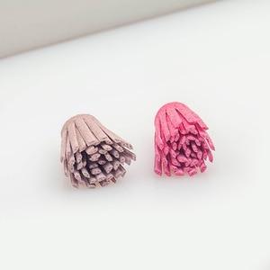 100 PCS Velvet Flowers Tassel