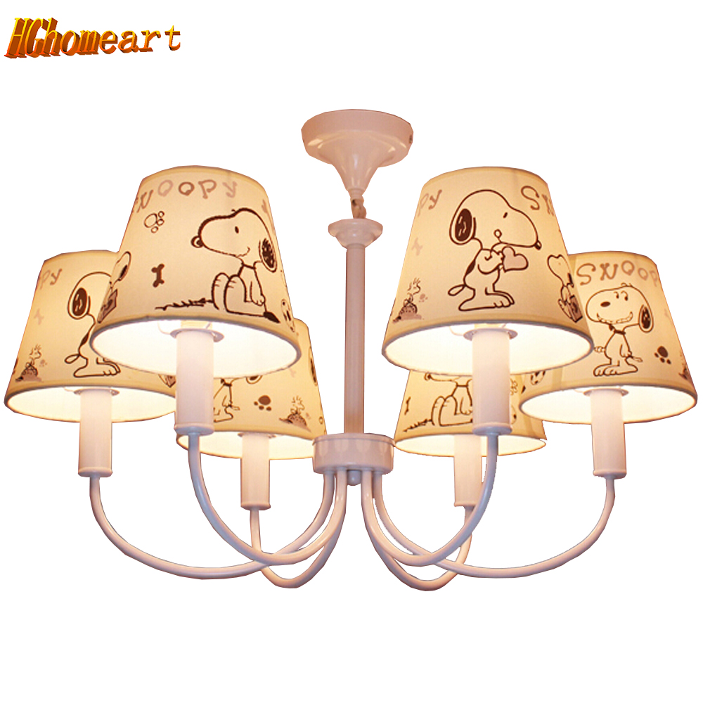 Hghomeart Kids Room Cartoon Led Chandelier Flower Lustre Led 110V-220V E14 Led Chandeliers Home Lighting Chandelier Baby hghomeart creative cartoon chandeliers led crystal chandelier kids room light wrought iron lamp lustre suspension