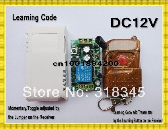 Door Access Remote Controller 12vdc Garage Door Opener 315433