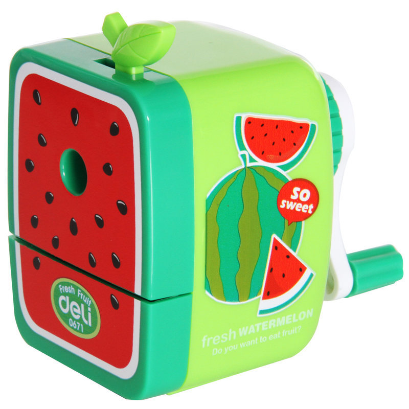 Special Offer 0671 Fruit Hand Pencil Sharpener Fruit Fun Student Cute Pencil Sharpener Classroom Supplies