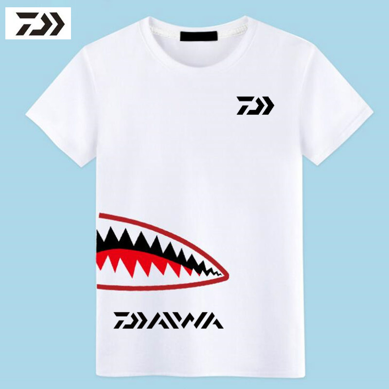 New Outdoor Fishing T-Shirt Mens Quick Dry Cooled T-Shirt Comfortable Breathable Round Neck Short Sleeved White Fishing ClothesNew Outdoor Fishing T-Shirt Mens Quick Dry Cooled T-Shirt Comfortable Breathable Round Neck Short Sleeved White Fishing Clothes